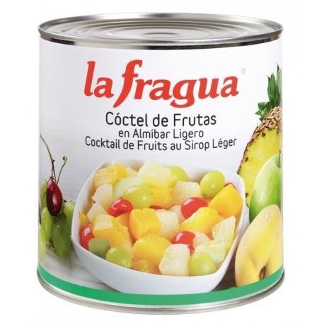 coctel de frutas en almíbar lata 3 kg