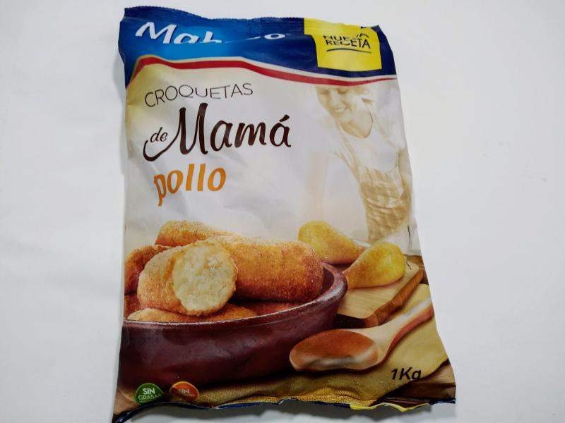 CROQUETAS DE POLLO MAMÁ