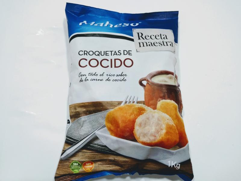 CROQUETAS DE COCIDO , RECETA MAESTRA