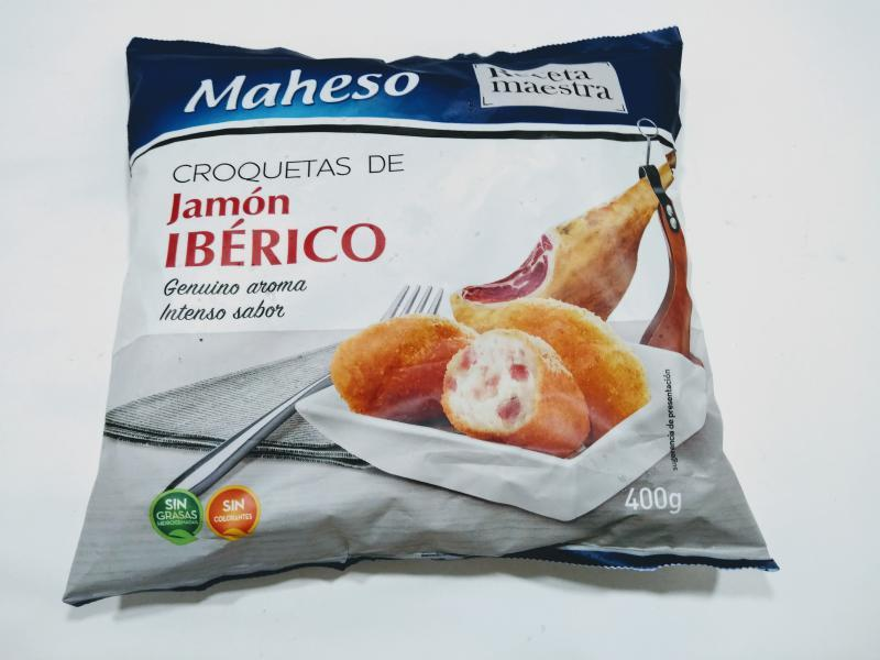 CROQUETA DE JAMÓN IBÉRICO