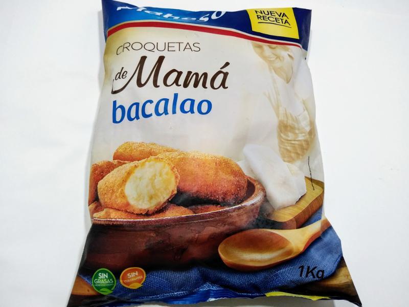 CROQUETAS DE BACALAO MAMÁ