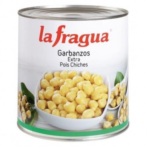 garbanzos tarro 580 gr 12*1