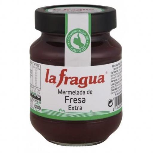 mermelada de fresa tarro 314 gr