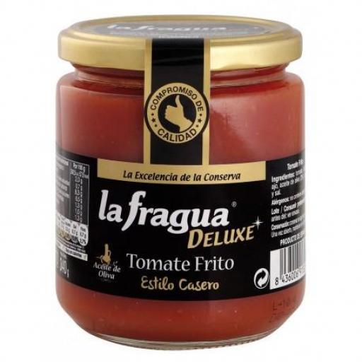 tomate frito estilo casero con aceite de oliva