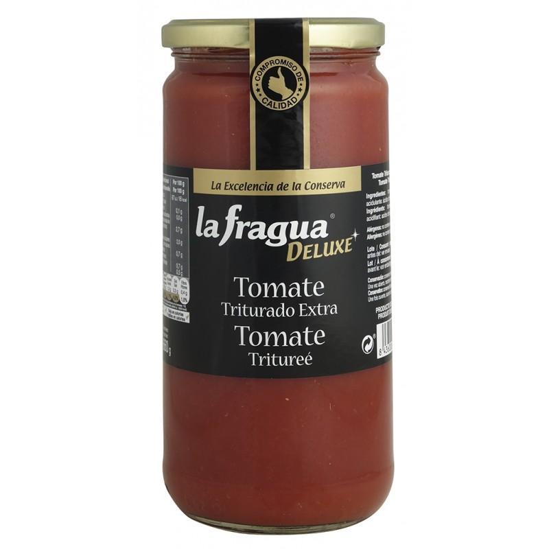 tomate triturado natural extra tarro 720 ml