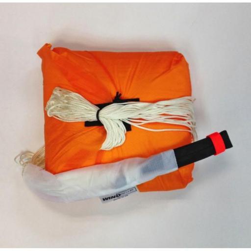 Contenedor interior paracaídas