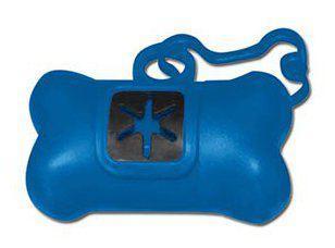 Dispensador para las bolsas de la heces de los perros
