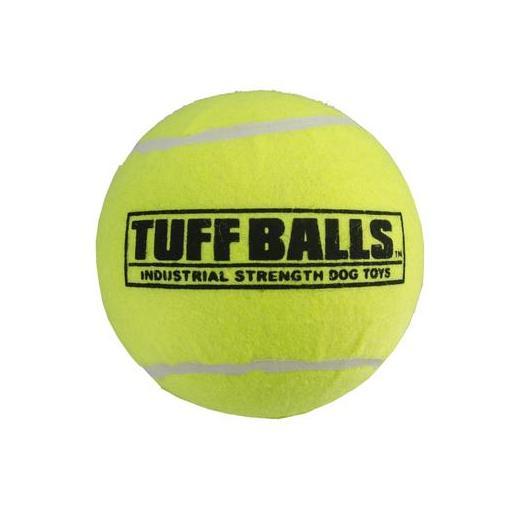 Pelota similar a las de tenis para perros con especificaciones para ellos TUFF BALLS
