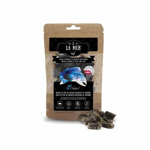 Snacks naturales a base de pescado deshidradado para perros LA MER [2]