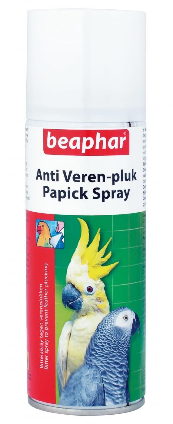 Spray indicado para evitar el picaje en pajaros y aves PAPICK 200ml