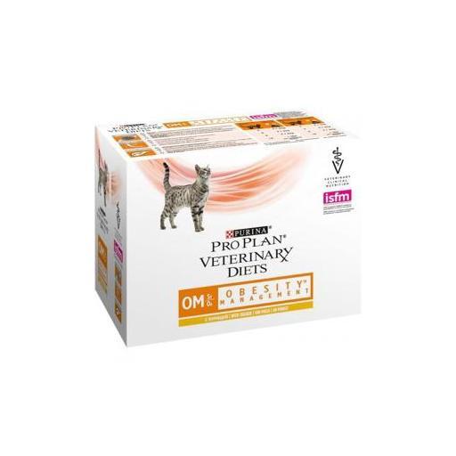 Alimento humedo para gatos con problemas de obesidad PROPLAN VD OM 10x85gr [0]