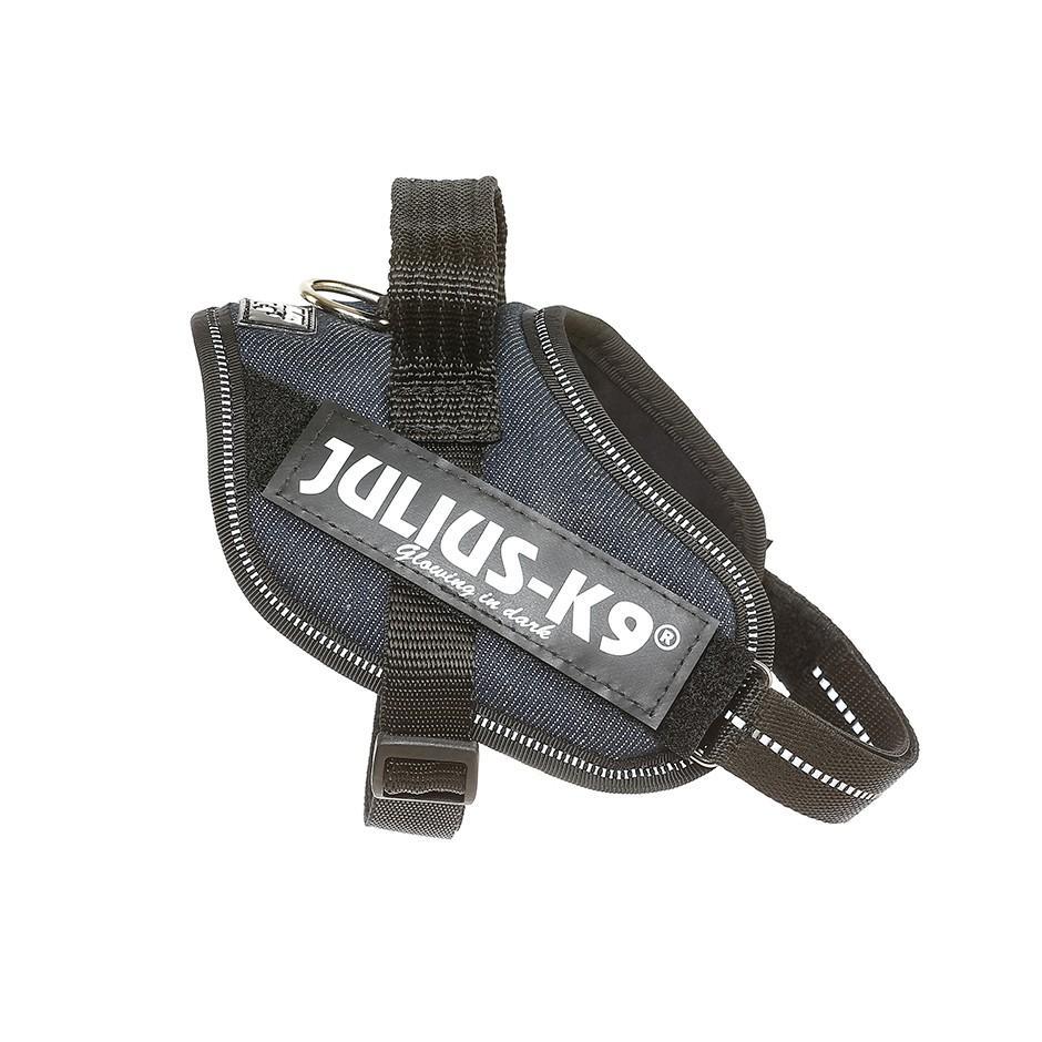 Arnés para perros JULIUS en tejido tejano