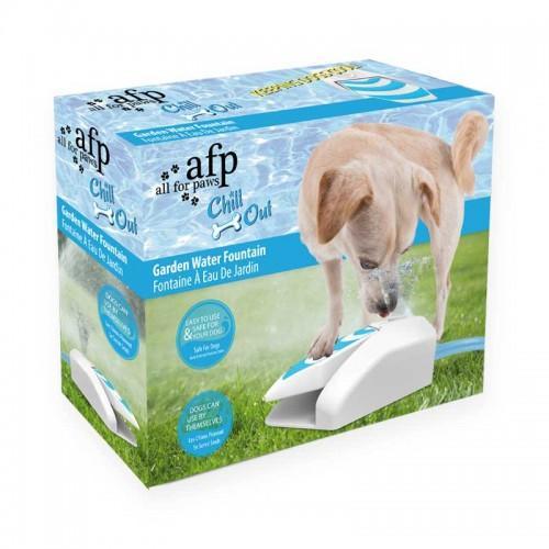 Fuente interactiva de jardín para perros CHILL OUT