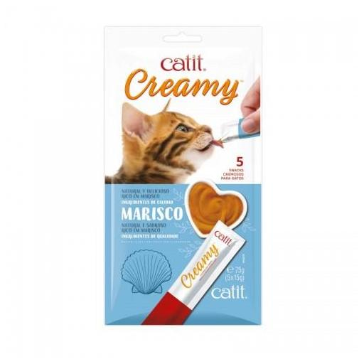 Snack cremoso para gatos  [2]