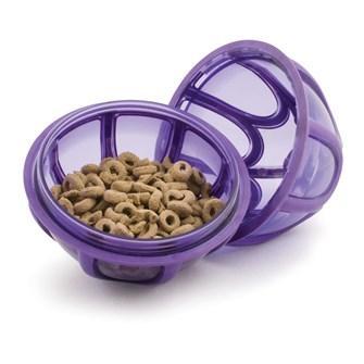 Bola rellenable de snacks KIBBLE NIBBLE para perros
