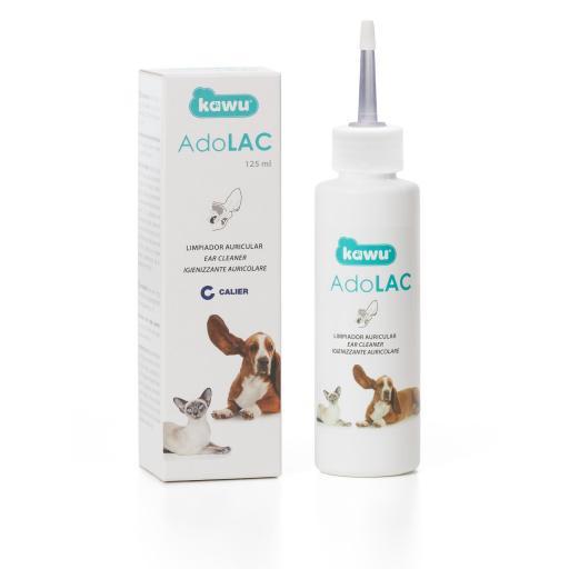 Limpiador auricular para perros y gatos ADOLAC 125ml