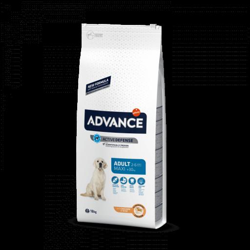 Pienso para perros adultos de raza grande ADVANCE MAXI ADULT 14kg