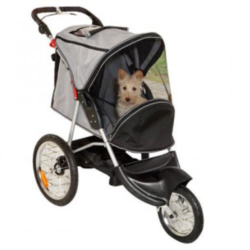 Carro de líneas deportivas para perros y gatos de hasta 15kg