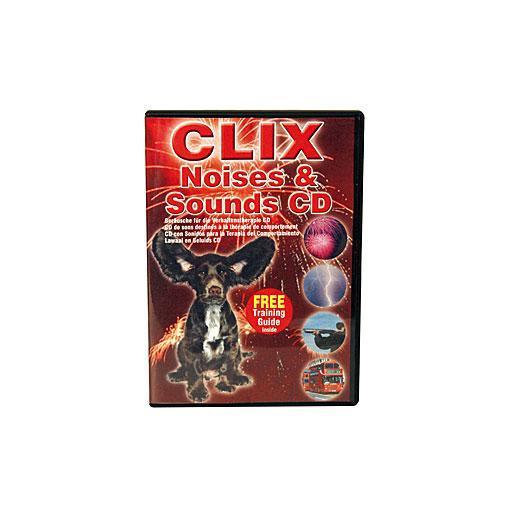 CD con sonidos diversos para acostumbrar a tu perro CLIX
