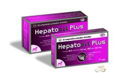 Suplemento nutricional para perros con problemas hepáticos HEPATOSIL PLUS