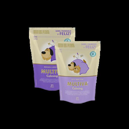 Suplemento nutricional para calmar a perros y gatos MULTIVA CALMING