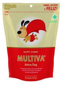 Multivitaminico para perros con enzimas digestivas MULTIVA ACTIVE