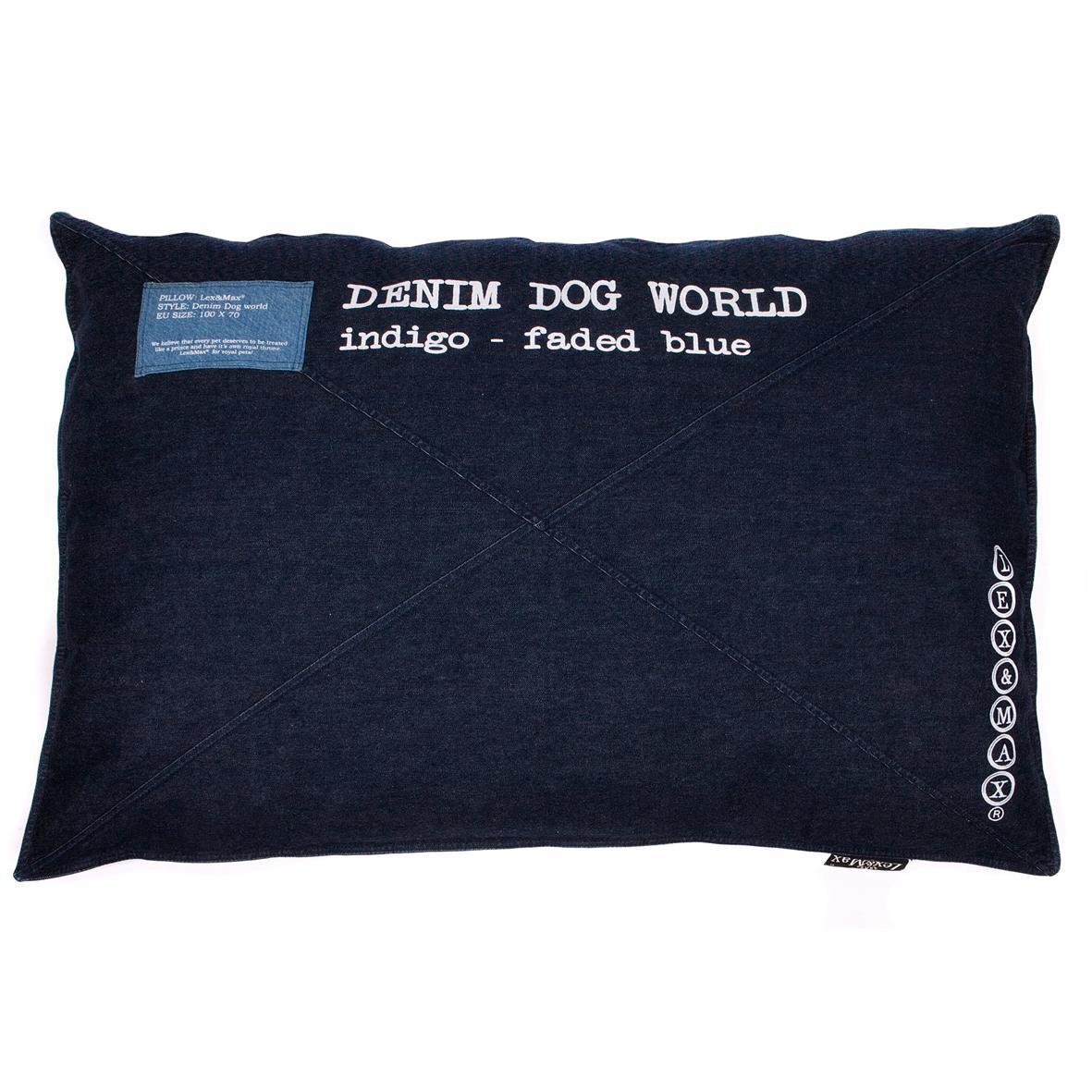 Colchón para perros ÍNDIGO DENIM 100x70cms