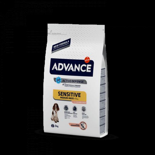 Advance Sensitive a base de salmón y arroz