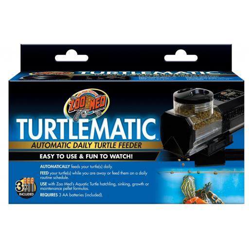 Comedero automático para tortugas TURTLEMATIC de ZOOMED