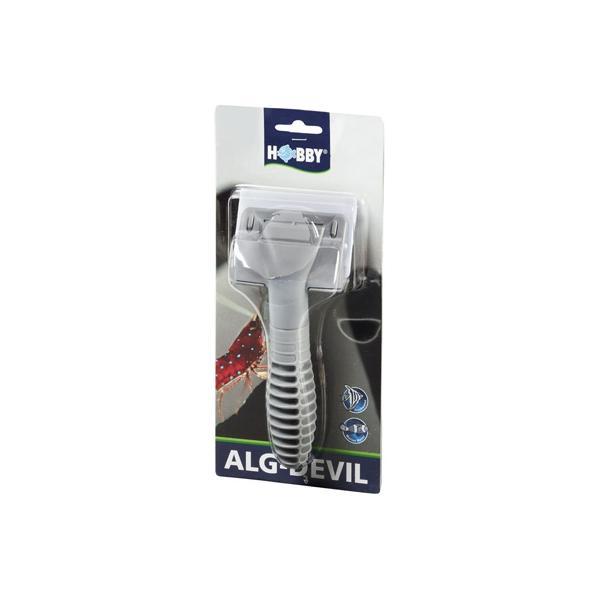 Rasqueta para la limpieza de cristales de acuario ALG-DEVIL