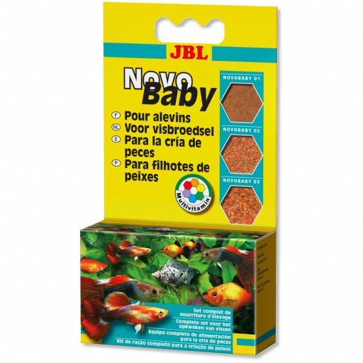 Set de alimento para alevines viviparos NOVOBABY de JBL