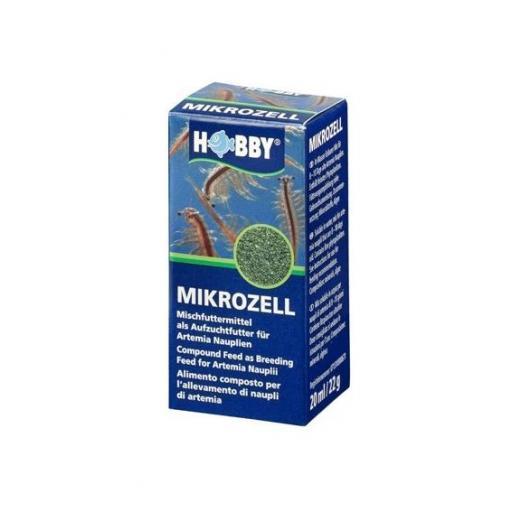 Alimento para artemia entre 8-10 dias MIKROCELL de HOBBY 20ml