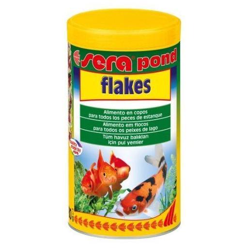 Alimento en escamas para peces de estanque SERA POND FLAKES