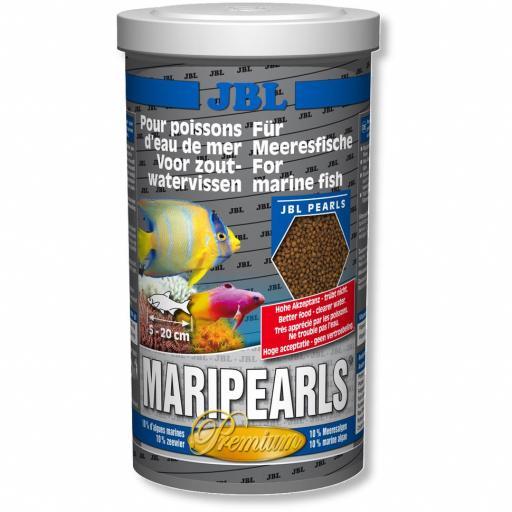 Alimento granulado para peces de agua salada MARIPEARLS de JBL 1000ml