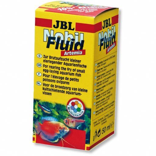 Alimento líquido para la cría de peces ovíparos JBL NOBILFLUID ARTEMIA 50ml