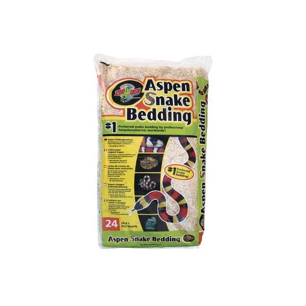 Sustrato natural de álamo para reptiles ASPEN SNAKE BEDDING