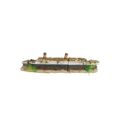Barco decorativo para acuarios OLIVIA de HOBBY