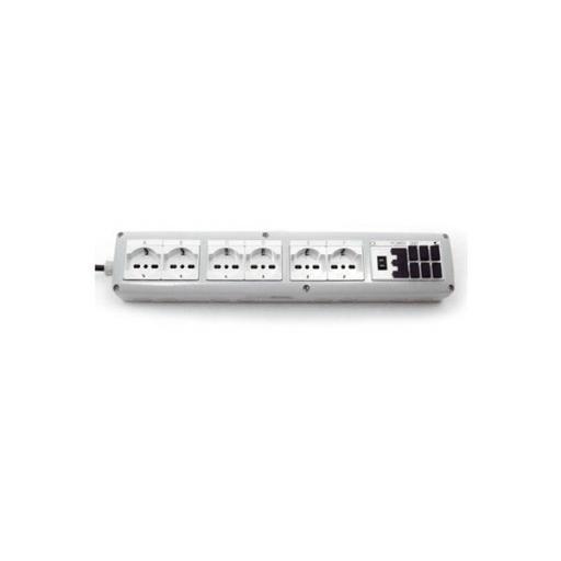 Unidad de potencia para controlar dispositivos de acuario con conexión USB y enchufe convencional
