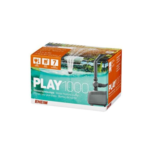 Bomba ideal para fuentes de estanque PLAY