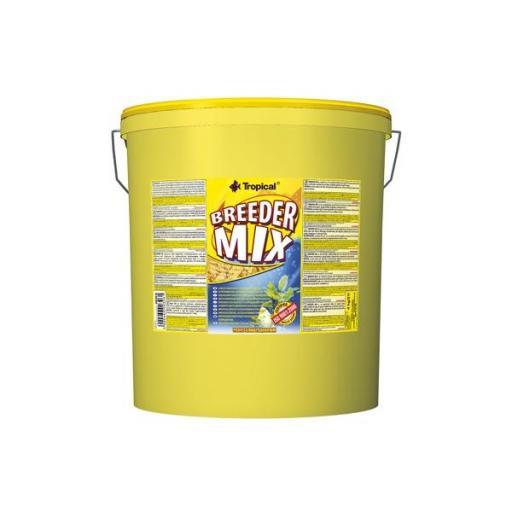 Alimento en escamas para peces ornamentales BREEDER MIX 21 litros [0]