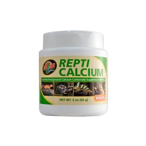 Suplemento a base de calcio para reptiles REPTI CALCIUM de ZOOMED