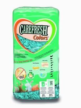 Lecho de color azul para roedores CAREFRESH