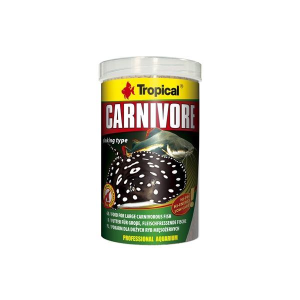 Alimento granulado para peces carnívoros CARNIVORE 1 litro