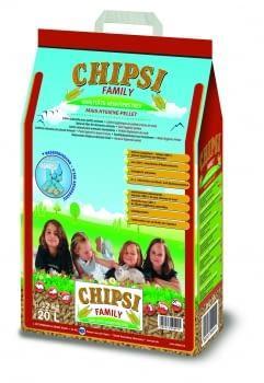 Lecho a base de pellets de maíz para mascotas FAMILY