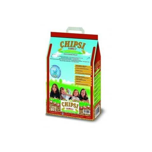 Lecho a base de pellets de maíz para mascotas FAMILY [0]
