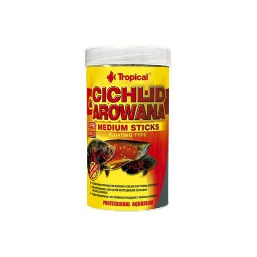 Alimento en sticks medianos para cíclidos y arowanas TROPICAL [0]