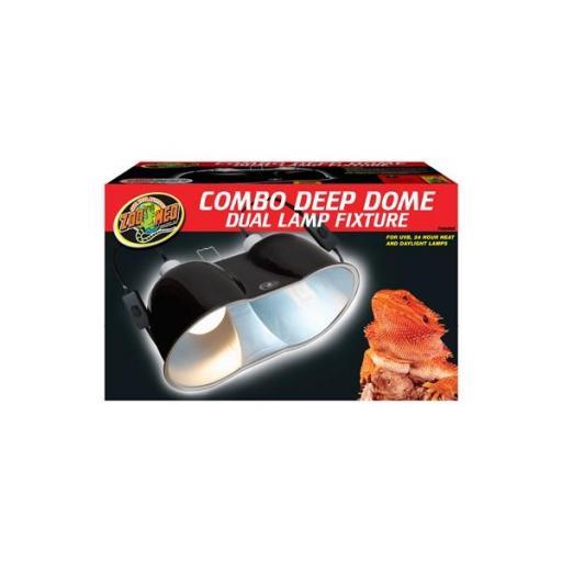 Portalámpara de cúpula profunda doble COMBO DEEP DOME & MINI COMBO DEEP DOME [1]