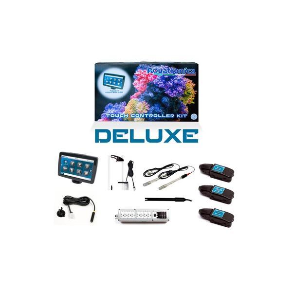Sistema de control de parámetros táctil y accesorios de acuarios DELUXE KIT de AQUATRONICA