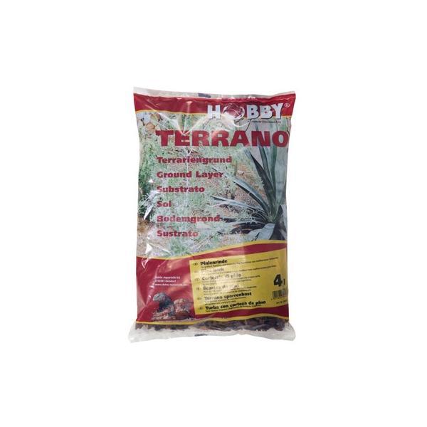Corteza de pino para terrarios semihúmedos 4 litros