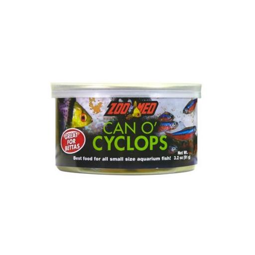 Alimento ideal para peces betta CAN O´CYCLOPS 90gr